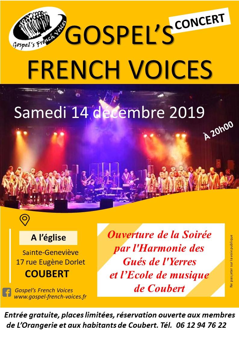 Concert : Samedi 14 Décembre 2019